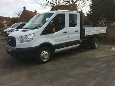 c9ecdf4a54 16   16 Ford Transit 2.2TDCi 130PS RWD DRW Double Cab 1-Way Tipper 350 L3H1